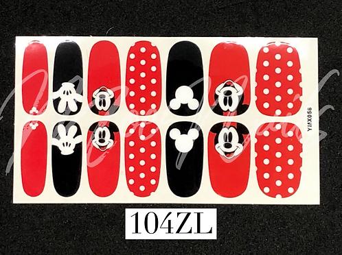 Nail Polish Sticker 104ZL