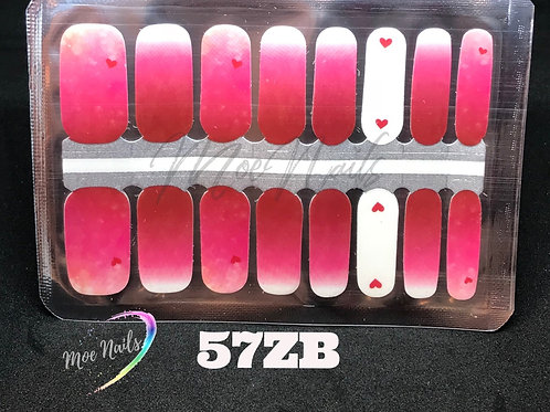Nail Polish Strip 57ZB