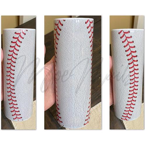 Baseball Sublimated Drinkware