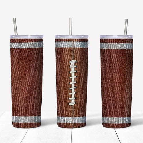Football Sublimated Drinkware