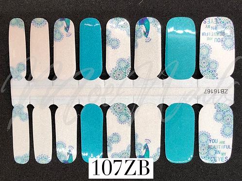 Nail Polish Strip 107ZB