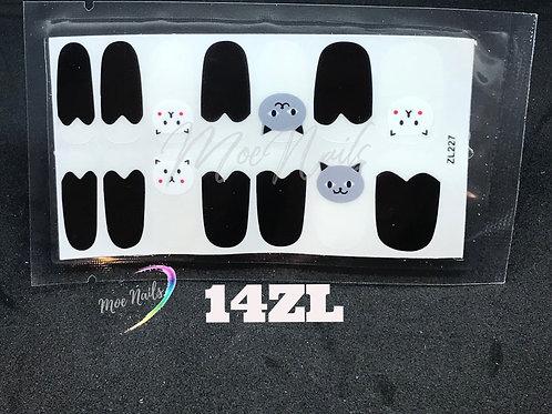 Nail Polish Stickers 14ZL