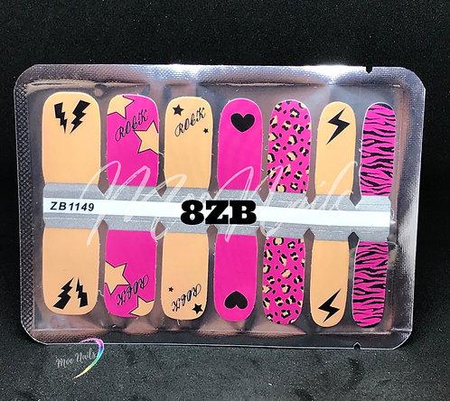 Nail Polish Strip 8ZB