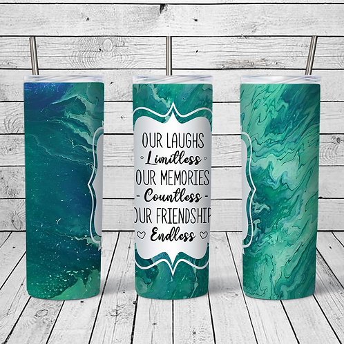 Friendship Sublimated Drinkware