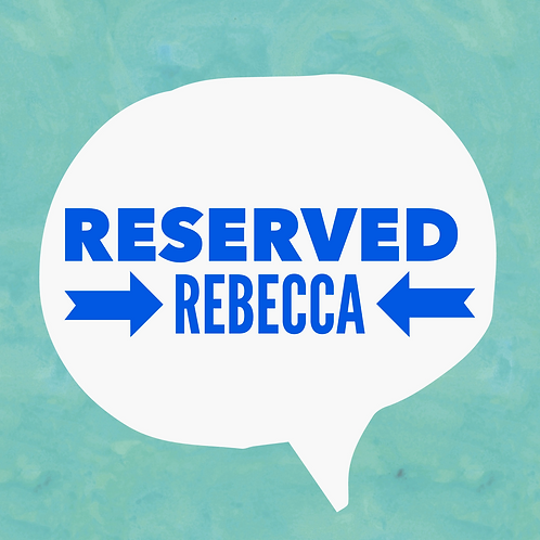 Reserved listing Rebecca - Sublimated Drinkware
