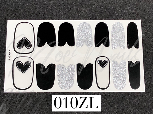 Nail Polish Sticker 010ZL