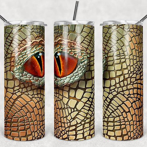 Dragon Eyes #3 Sublimated Drinkware
