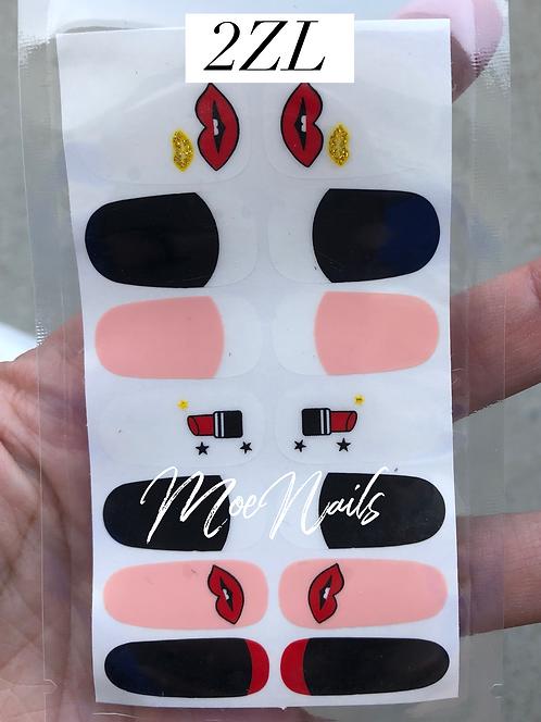 Nail Polish Stickers 2ZL