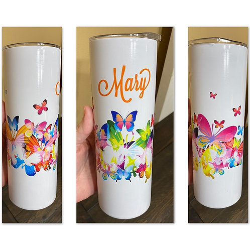 Butterfly Sublimated Drinkware