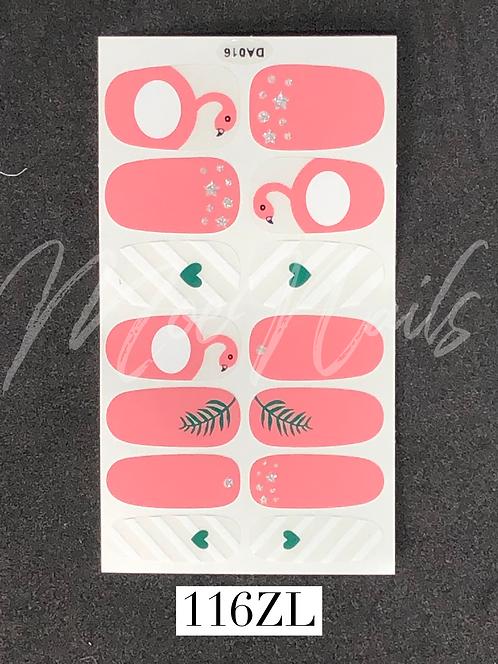 Nail Polish Sticker 116ZL