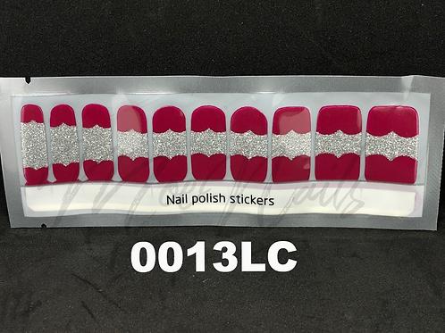 Luxe Nail Polish Strip 0013LC