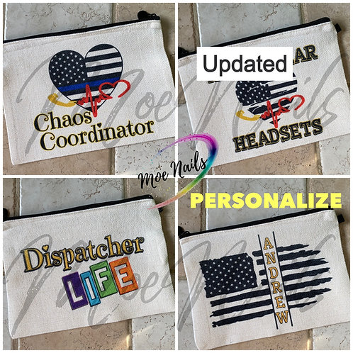 Dispatcher Headset Bag - Many Designs