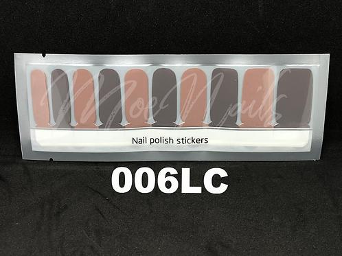 Luxe Nail Polish Strip 006LC