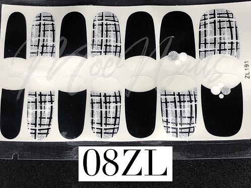 Nail Polish Sticker 08ZL