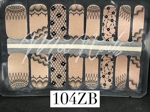 Nail Polish Strip 104ZB