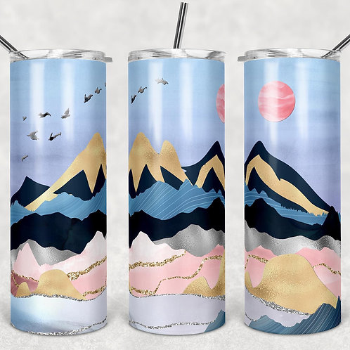 Mountains Sublimated Drinkware