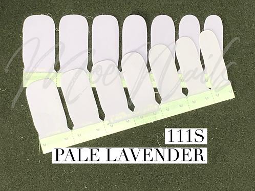 No-Heat Vinyl Nail Strips 111S Pale Lavender