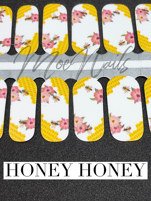 Honey Honey Nail Polish Strip