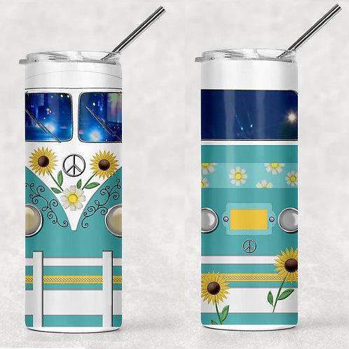Hippie Van Sublimated Drinkware
