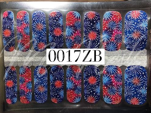Nail Polish Strip 0017ZB