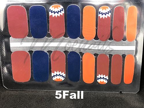 Fall nail polish strip 5Fall