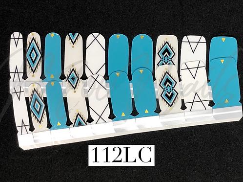Luxe Nail Polish Strip 112LC