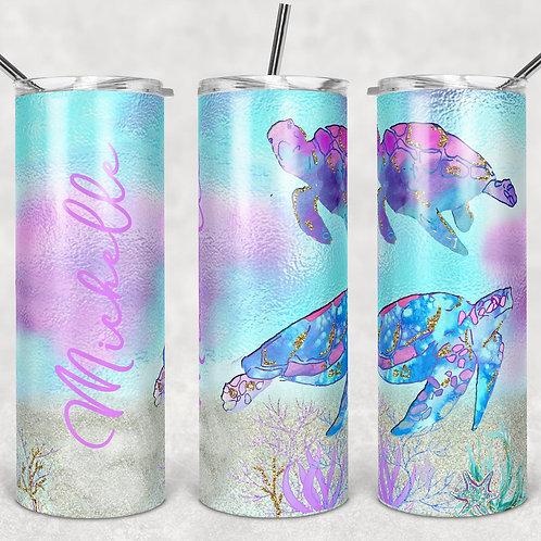 Sea Turtles Sublimated Drinkware