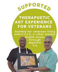 ICON therapuetic art experience for vete