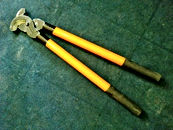 Manutenção e ensaios elétricos em Tesourão BPG cabo em fiberglass para corte de condutor