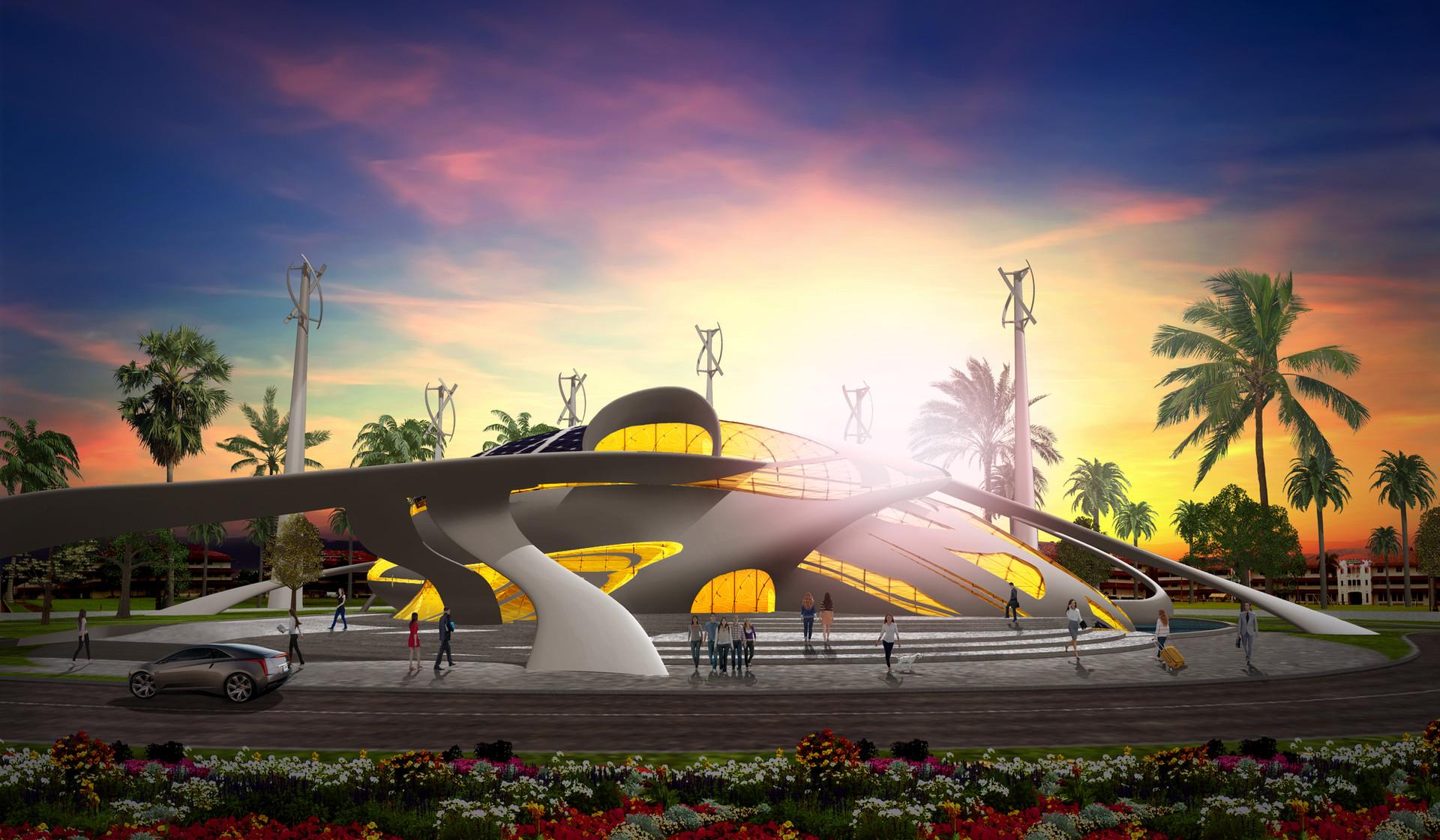 Centro sostenible para el desarrollo, cultura y arte Imaginari - Panamá