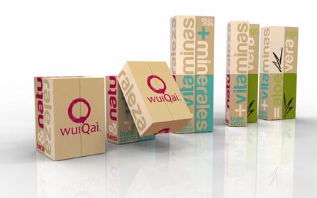 Empaque bebidas energéticas - WuQai
