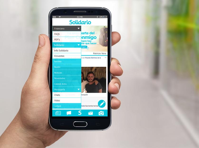 App Banco Solidario