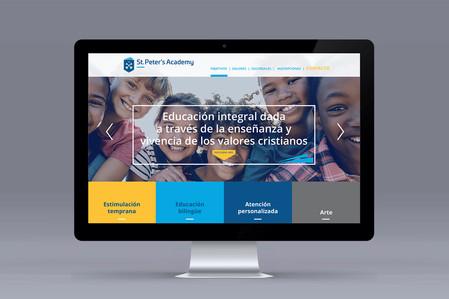 Página Web St. Peters Academy