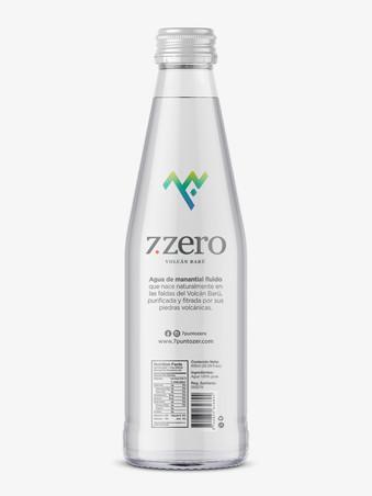 Etiqueta Agua Zero - Panamá