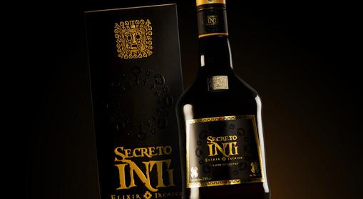 Empaque y etiqueta / Triple Sec Secreto Inti - Alcopesa
