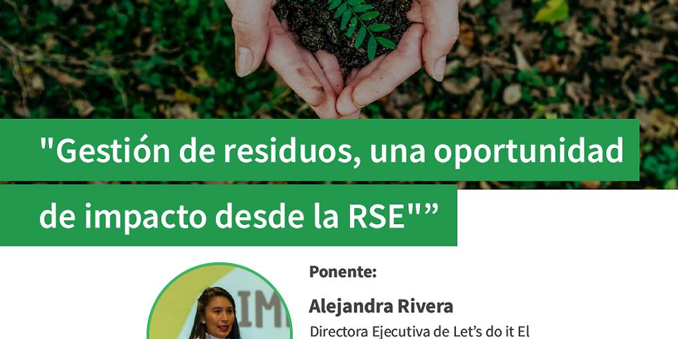 Gestión de residuos, una oportunidad de impacto desde la RSE