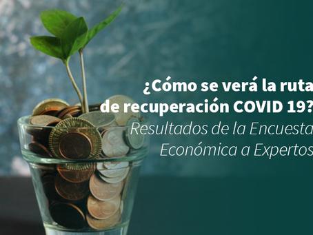 ¿Cómo se verá la ruta de recuperación COVID 19? Resultados de la Encuesta Económica a Expertos