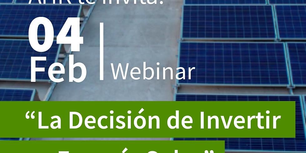 La Decisión de Invertir en Energía Solar