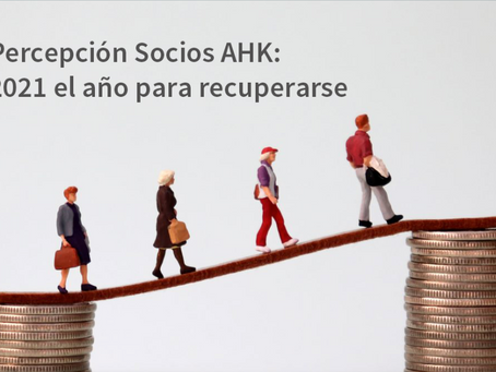 Percepción Socios AHK: 2021 el año para recuperarse