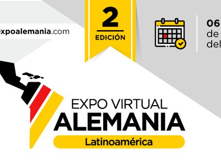 ¡Regresa la EXPO Alemania Virtual 2a Edición!