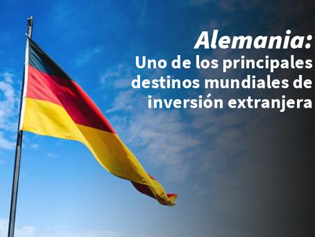 Alemania: Uno de los principales destinos mundiales de inversión extranjera