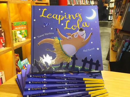 Launching Leaping Lola in Australia