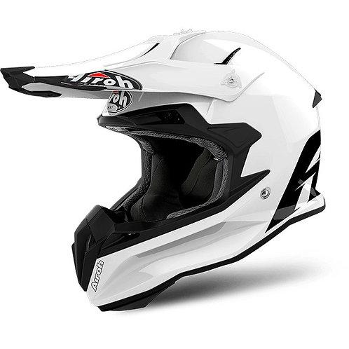 Airoh Terminator Openvision Carbon - White