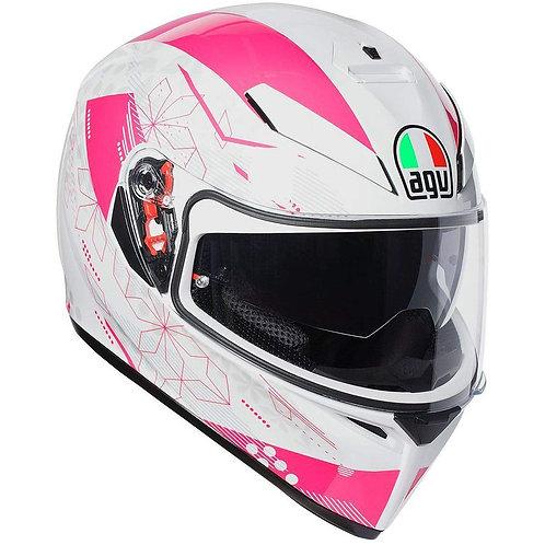 Agv K3 SV - Izumi White/Pink