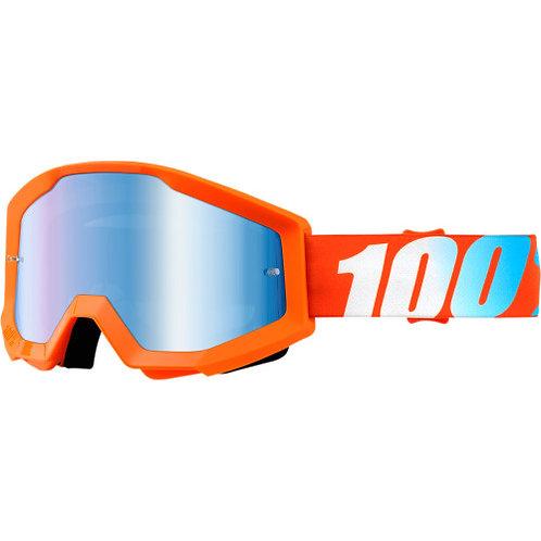 100% Strata Orange visiera specchio - solo online