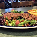 Merlot Poached Apple Salad