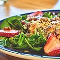 Strawberry Spinach Chicken Salad