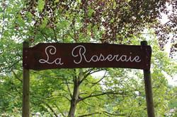 Chaumont-Gistoux rose garden