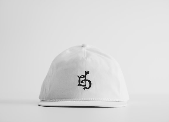 TLD White Rope Cap