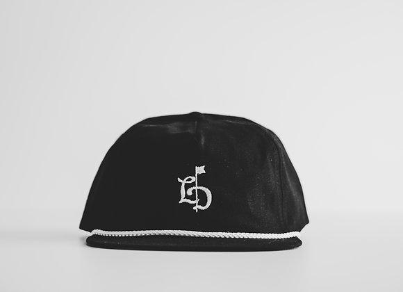 TLD Black Rope Cap